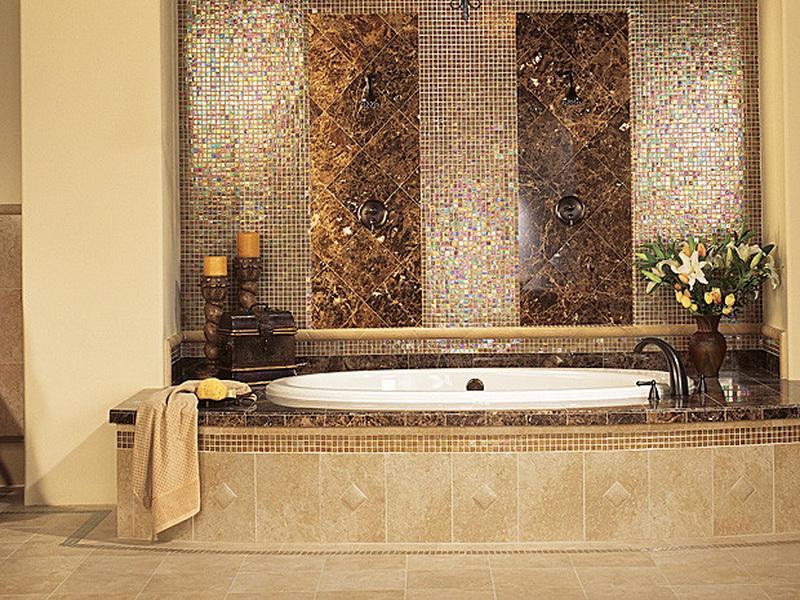 Bathroom accent tile ideas