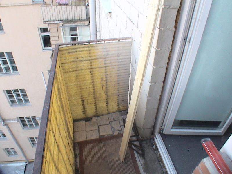 Утепление балкона в хрущевке в панельном доме..