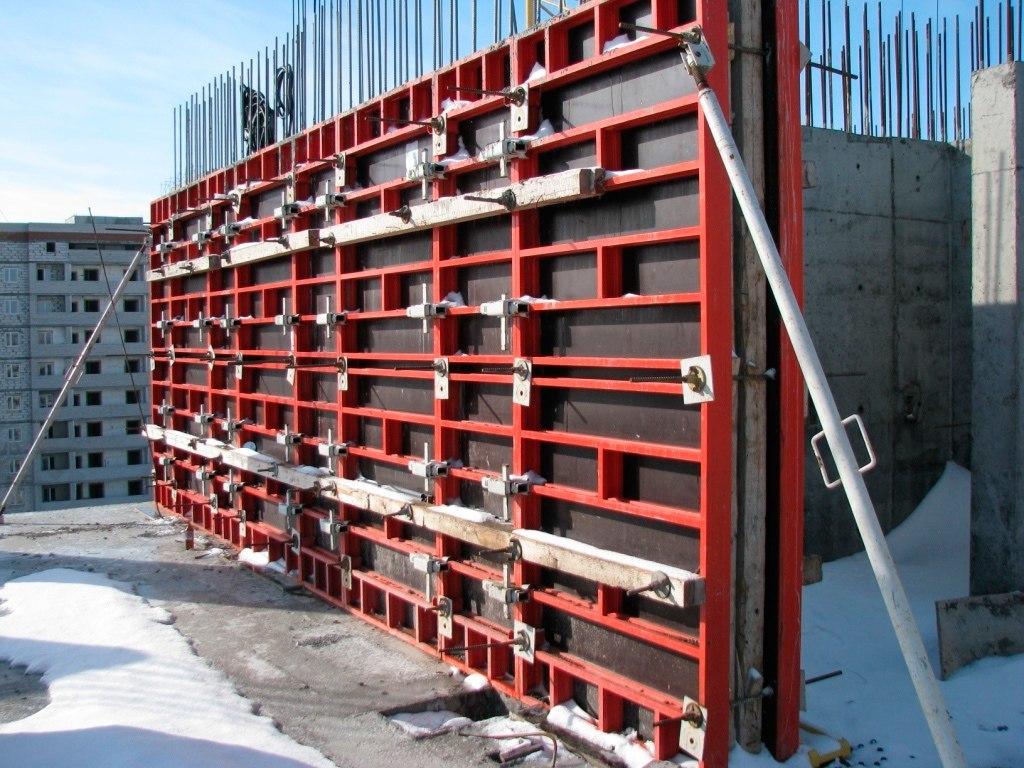 материалы для опалубки стен