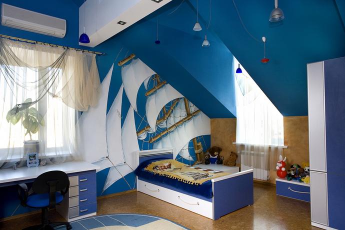 Отделка детских комнат фото