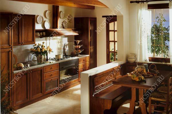 гостиная с кухней дизайн фото