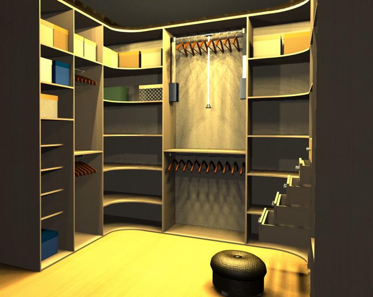 Гардеробные комнаты фото и схемы