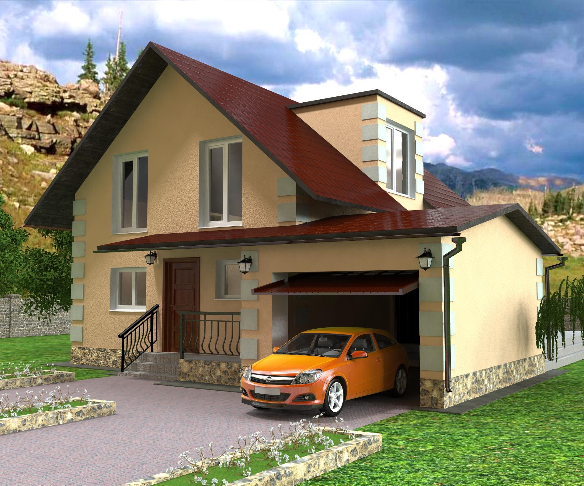 Фото частных домов построенных