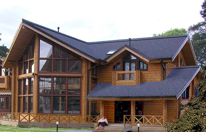 Красивые деревянные дома фото проекты