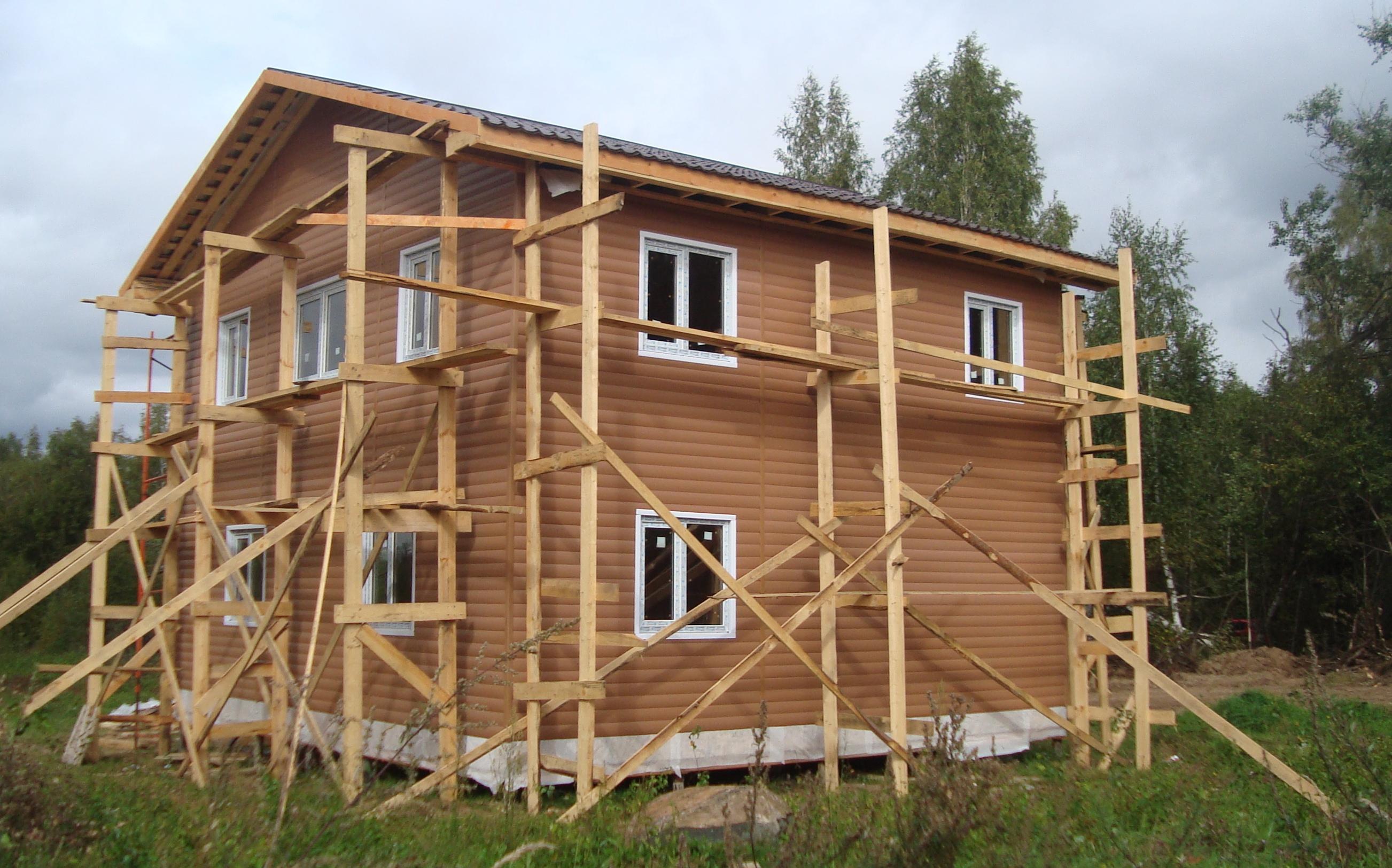 Строительство собственного дома, этапы большого пути