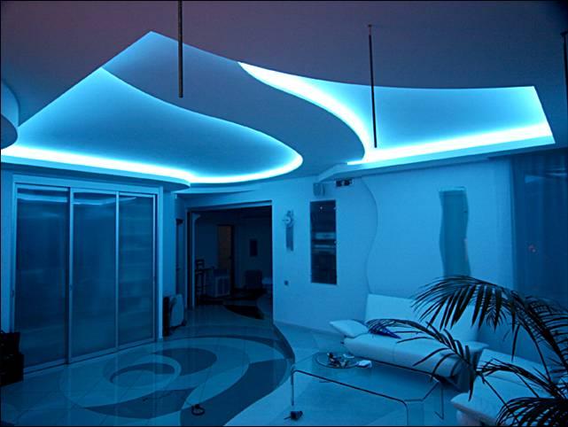 Подсветка комната своими руками