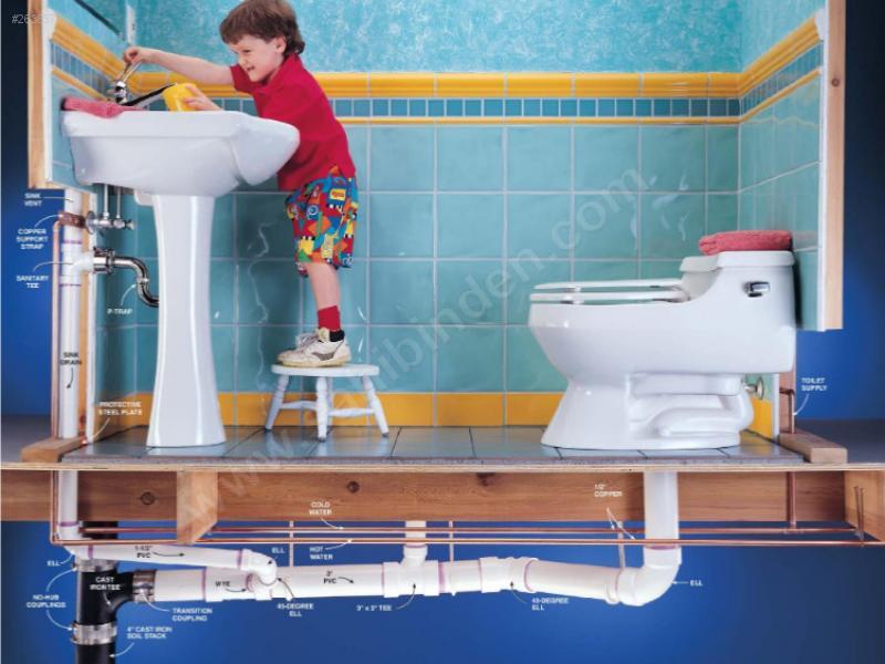 Как сделать сантехнику в своем доме