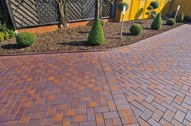 Тротуарная плитка кирпичик дизайн
