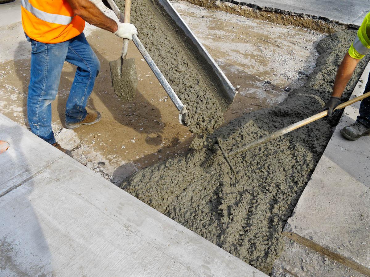 Как сделать бетон красивы 646