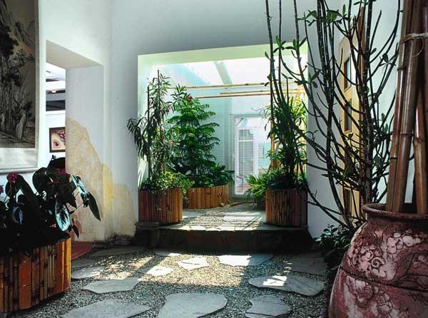Японский садик в квартире